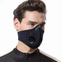 Nova unissex máscara & filtro respirador boca máscaras de rosto lavável filtros reutilizáveis filtro pm 2.5 mascarilla reutilizável entrega rápida