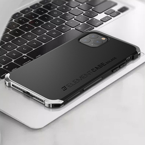 Armor Metal Aluminum+PC+silicone button Heavy Duty Phone Protect Funda Cover For iPhone 11 Pro Max X XS XR 6S 7 8 Plus 5 SE Case(China)