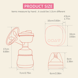 Image 5 - Electric Breast Pump Charged Easy Convenient Charged Easy Carry Outdoors Milk Pump Postpartum Supplies