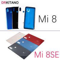 Funda trasera para Xiaomi Mi 8, cristal de batería para Mi8 Lite Explorer Mi 8 Pro, funda de cristal de puerta trasera para Xiaomi Mi 8 SE, reemplazo de funda trasera