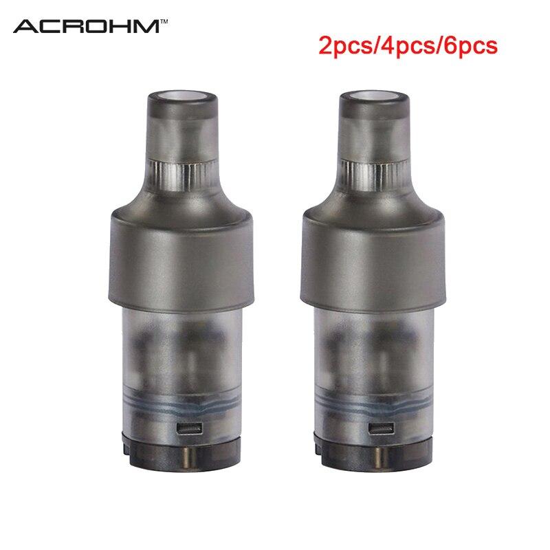 2pcs/pack Original Acrohm Fush Nano Pod Cartridge 1.5ml E-juice Capacity Designed For Fush Nano Kit