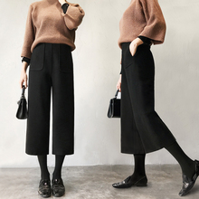 Get more info on the Hairy Maternity Pants Stomach Lift Wide Leg Pregnancy Pants Solid Color Loose Maternity Clothes Autumn Casual for Pregnant Women