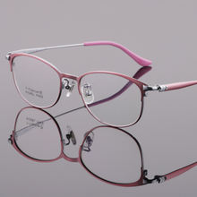 Женские очки с полным ободком оправа из чистого титана в стиле