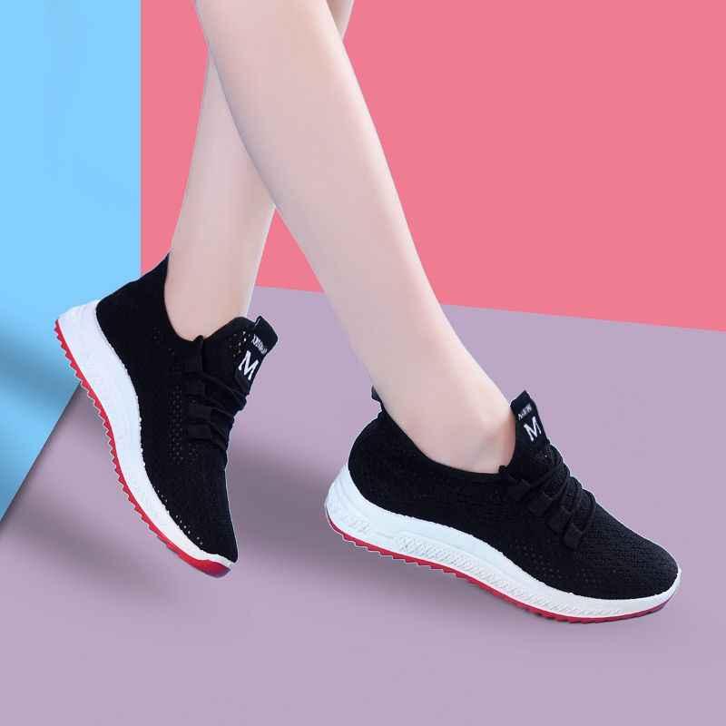 2019 bahar kadın ayakkabı düz yeni tıknaz kadınlar için Sneakers vulkanize ayakkabı rahat moda baba ayakkabı platformu Sneakers Femme