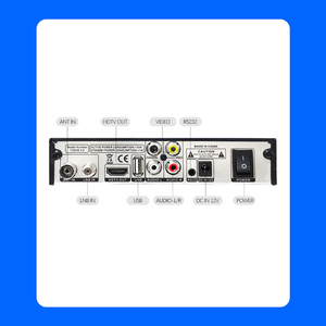 Image 3 - Hot selling Europe Russia Digital Terrestrial Satellite fully HD TV DVB T2S2 Combo Decoder Receiver Support Youtube usb WIFI PVR
