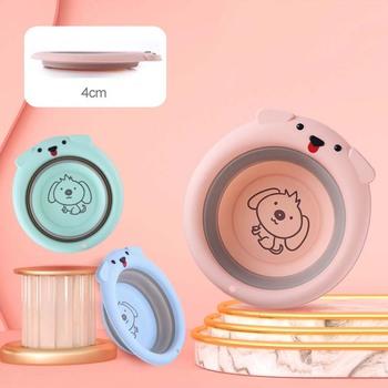 Przenośne umywalki dla dzieci plastikowe składane umywalki dla dzieci turystyka Outdoor Cartoon składane wiadro akcesoria do łazienki gospodarstwa domowego tanie i dobre opinie NoEnName_Null 32cm2 26 28 30 32 34 36 38 40 44 48 50 Z tworzywa sztucznego Portable basin EJNX04661 36 cm Ekologiczne Zaopatrzony