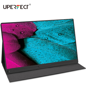 UPERFECT Portable Monitor 15.6 Inch IPS HDR 1920X1080 FHD Eye Care Screen USB C Gaming Screen Dual Speaker Computer Display