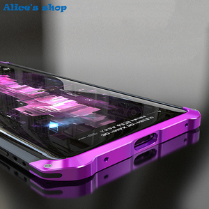 Image 4 - Aluminium Metal & Hybrid Pc Hard Volledige Bescherming Case Voor Huawei Mate 20/ Pro/ X 5G Luxe slim Shockproof Cover Case 20X 5G