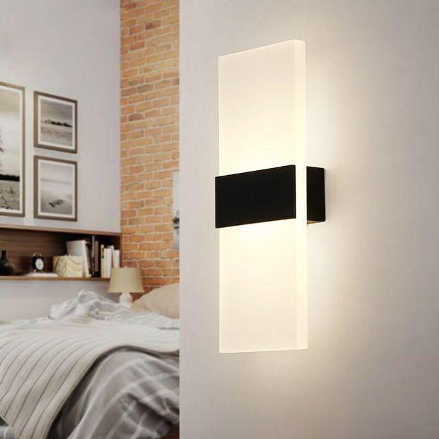 Mooi Moderne Led Acryl Wandlamp  5