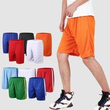 Спортивные шорты для мужчин и женщин, однотонные тренировочные шорты для бега, баскетбола, тенниса, бадминтона, лето
