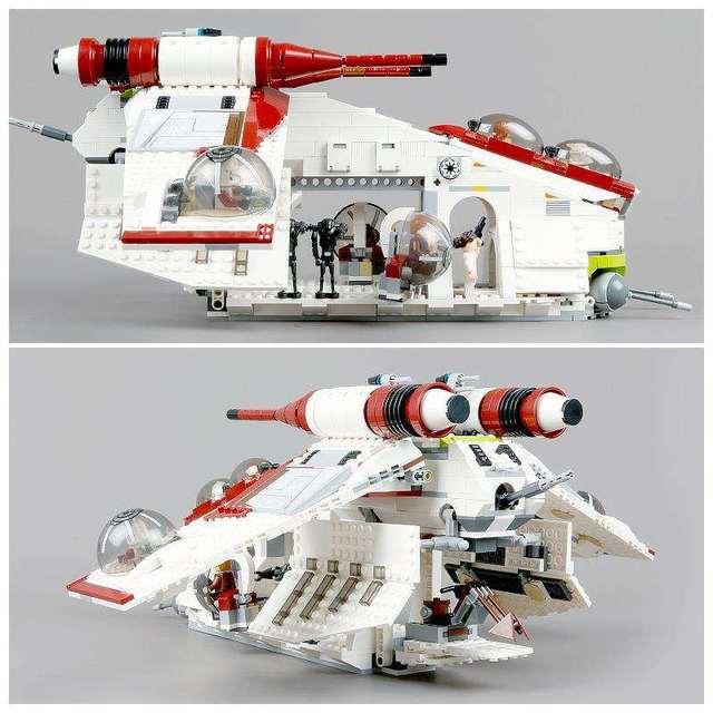 Nuovo Star Tie Fighter X Ala MicroFighters Wars A Camminatore Blocchi di Costruzione Star Wars Lepining Giocattoli 05053 10195 05039 10240 5