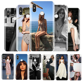 Dakota Johnson Soft Silicone Phone Case For Redmi 4 5 5A 6A 6pro 7 5PLUS NOTE 5 6 7 8 4X PRO image