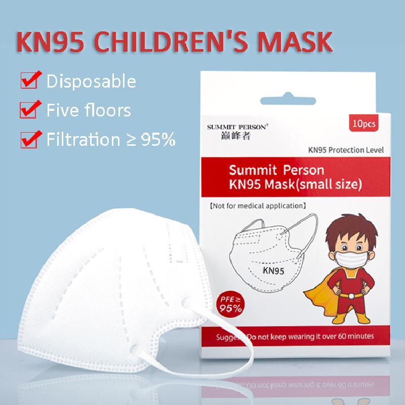 FFP2 Children's Masks KN95 Mascarillas 5 Layers Filter Homologada Face Masks Protective Mouth Mask Ce Ffp2mask Respirator Masque 1