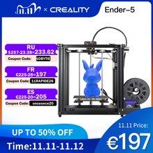 3D  принтер Creality, принтер Ender 5 с стабильной структурой, с выключением питания, возобновлением печати Ender 5 * 220*220