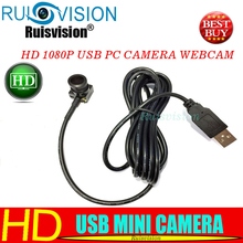 HD1080P/2MP USB 2.0 MINI Camera Wide Angle Mini CCTV With Webcam For use Windows Computer PC Laptop Free shipping
