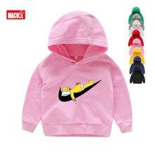 цены Children Anime Funny Hoodies Sweatshirts Baby Girls Cartoon Autumn Kids Casual Clothes Fashion Boys Hoodies Children Sweatshirts