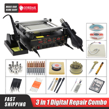 Heat-Gun Stations-Buy Soldering-Iron Bga-Rework-Station Hot-Air Infrared Gordak-863 3-In-1