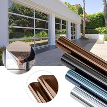 Window-Film Stained Insulation Privacy Self-Adhesive-Film Glass Vinyl Reflective One-Way-Mirror