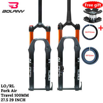 MTB Fork 100mmTraver 32 RL 29er Inch Suspension Fork Lock Straight Tapered Thru Axle QR Quick Release Fo bicycle Accesorios - DISCOUNT ITEM  43% OFF All Category
