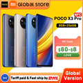 Глобальная версия POCO X3 Pro 8 Гб 256 ГБ NFC Смартфон Snapdragon 860 33 Вт Quad AI камера 120 Гц DotDisplay аккумулятор 5160 мАч