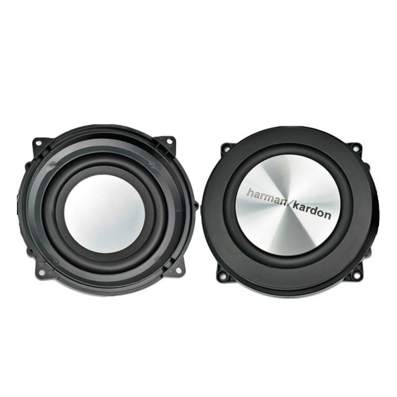 SOTAMIA 2Pcs 4Inch Bass Radiator Passive Radiator DIY Speaker Brushed Aluminum Auxiliary Woofer Vibration Membrane