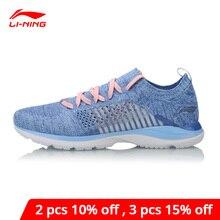 Li Ning Frauen Super Licht XV Laufschuhe Futter li ning Cloud Lite Turnschuhe Socke Atmungsaktive Komfort Sport Schuhe ARBN016 XYP653