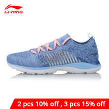 Li Ning Women Super Light XV Running Shoes LiNing li ning Cloud Lite Sneakers Sock Breathable Comfort Sport Shoes ARBN016 XYP653