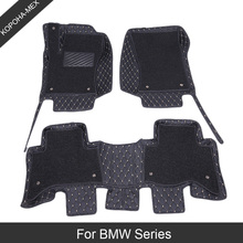 Car-Floor-Mats Carpet-Cover Auto-Foot-Pads for Bmw X3x4/X5x1/X6/.. Automobile Special-Leather