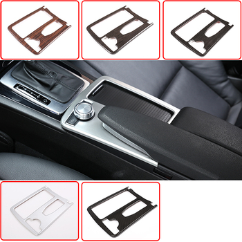 RHD LHD For Mercedes Benz C Class W204 2008-2014 Car ABS Central Console Cup Holder Frame Trim E Class Coupe C207 W212 2010-12 1