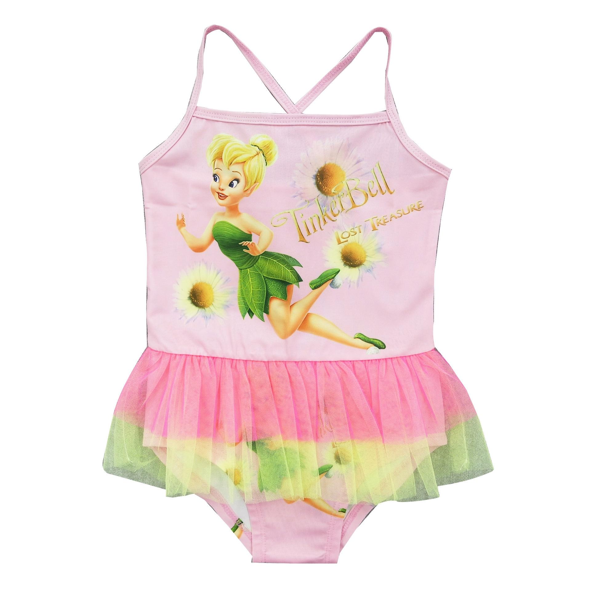 2017 New Year Good Goods Skirt Children Baby Girls Bathing Suit Casual Beach One-piece Triangular Children Swimwear 1302