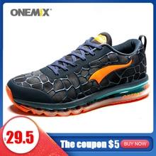 Onemixホット男性スニーカー女性のスポーツの靴エアクッション通気性カジュアルシューズtenis靴ライトzapatillas