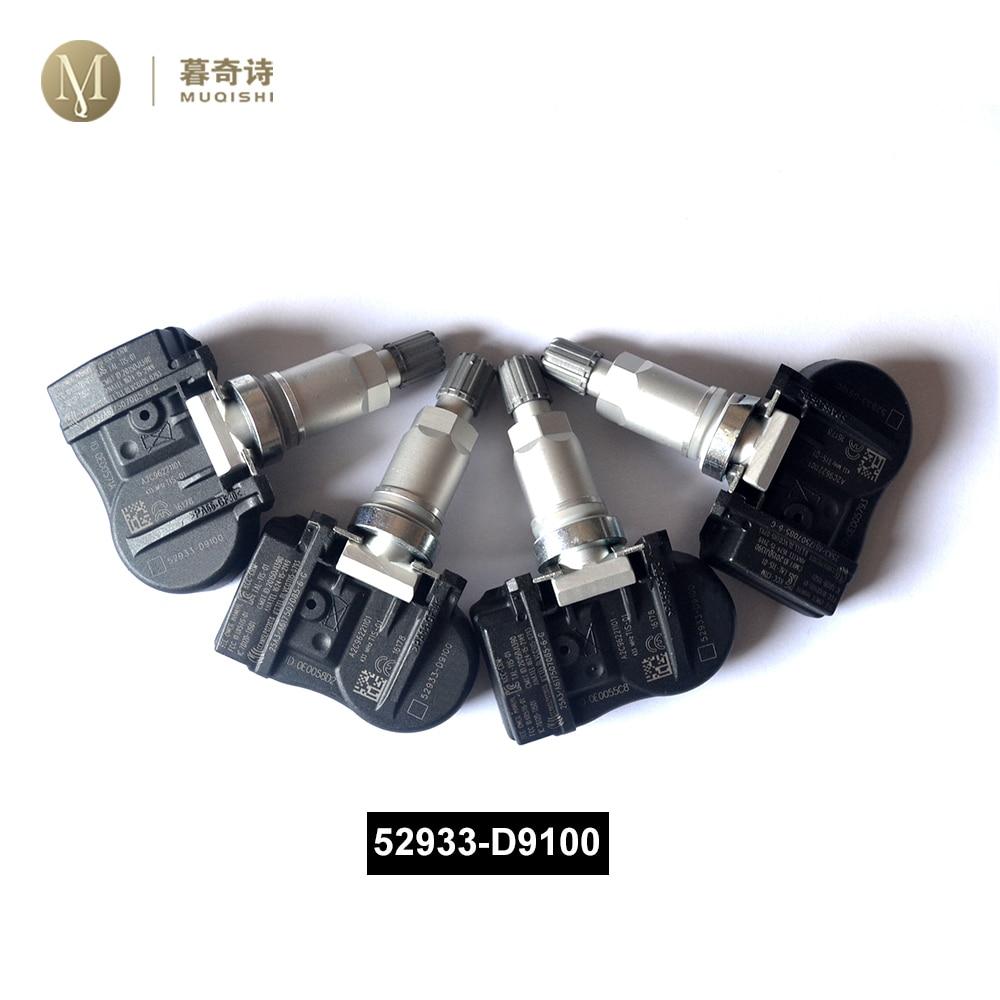 Датчик давления в шинах для Kia Sportage 2015-2020, система контроля давления в шинах Optima 52933-D9100 Elantra TPMS Soul Niro 2019