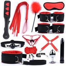 Brinquedos sexuais para casais, náilon, bdsm, escravo, lingerie sexy, babados, plugue anal, vibrador, produtos sexuais