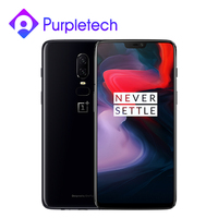 Global ROM OnePlus 6 6GB/8GB RAM 128GB/256GB ROM Snapdragon 845 Octa Core 6.28'' FHD 20MP AI Dual Camera Face ID Smartphone NFC