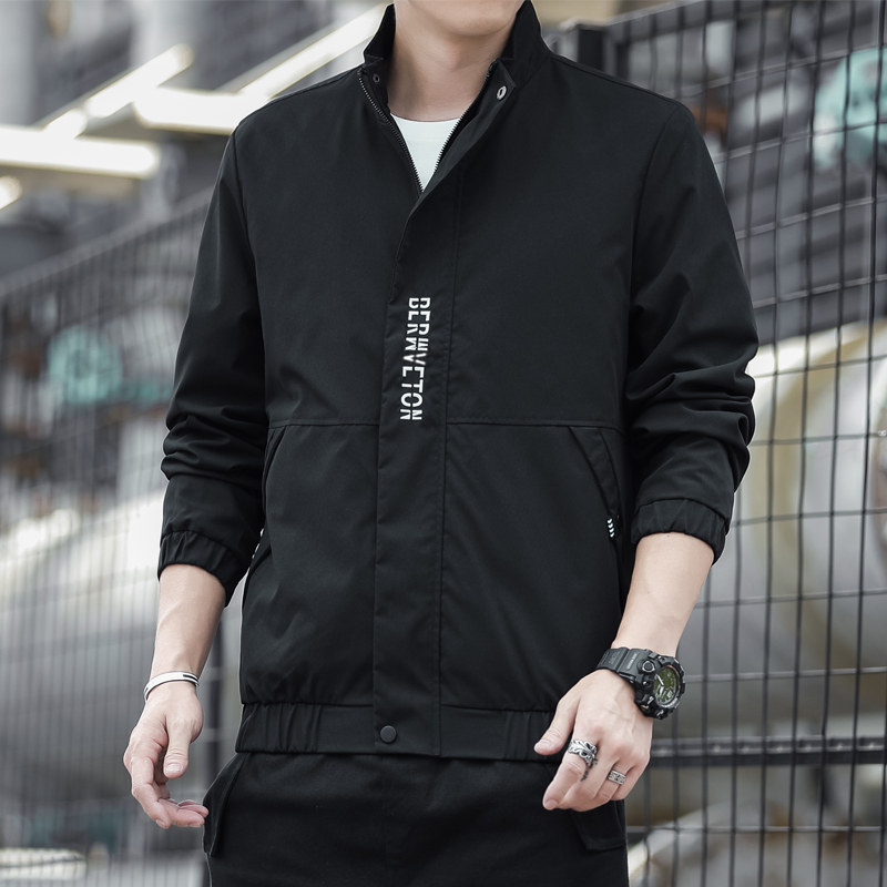 2021 spring and autumn new fashion Russian version trend casual jacket men's baseball uniform tide clothes