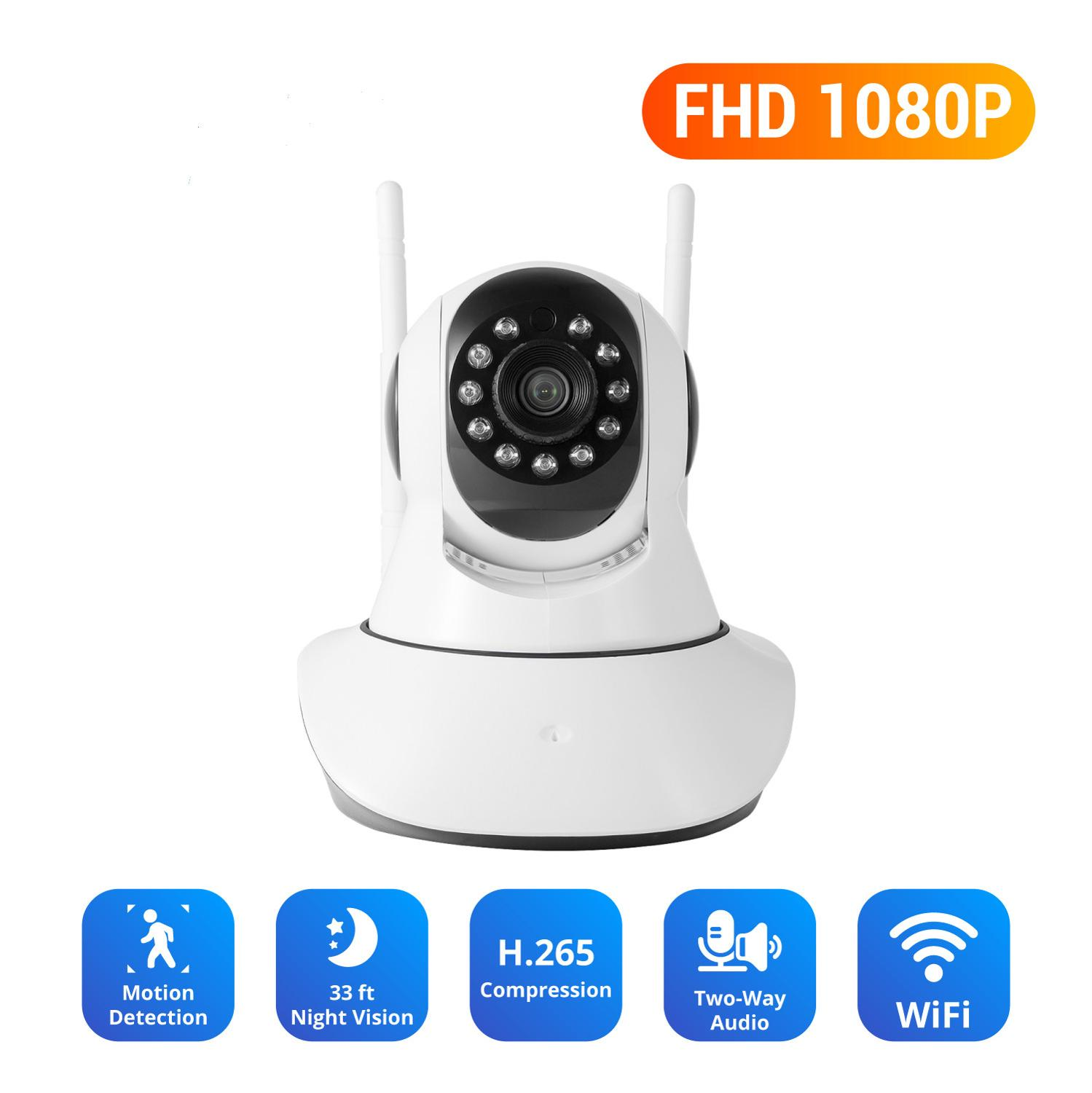 ANNKE 1080P CCTV Smart IP Camera Wifi Security Baby Monitor IR Night Vision Two Way Audio Surveillance Wireless IP Camera