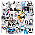 50 шт. фанатов Marshmello наклейки Doctom Chris Comstock EDM Singer Bullet Journal наклейки водонепроницаемые наклейки для ноутбука Marshmello