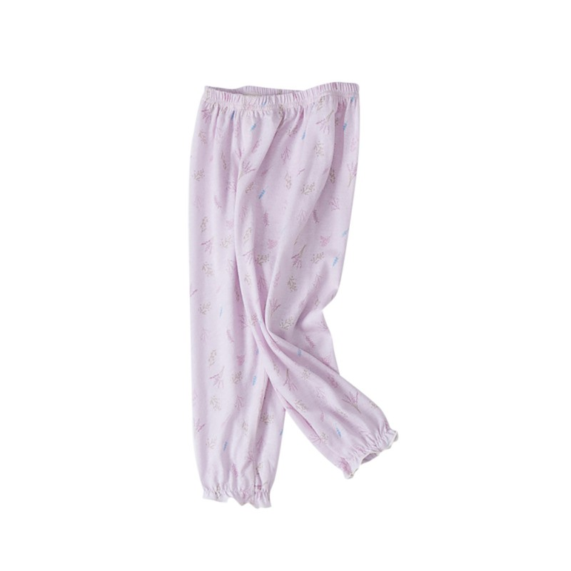 Trousers Clothing Pants Mosquito Baby-Girls Toddler Cotton Casual Summer Print Bites