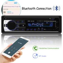 Авторадио 12 в Bluetooth V2.0 JSD520 автомобильный стерео In-dash 1 Din FM Aux вход приемник SD USB MP3 MMC WMA автомобильный Радио плеер