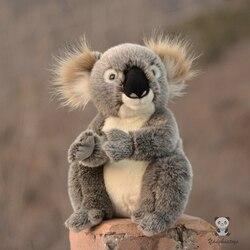 Animales de peluche suave juguete Koala muñecas regalos de vacaciones para niños en la vida real de peluche koalas de peluche juguetes tiendas