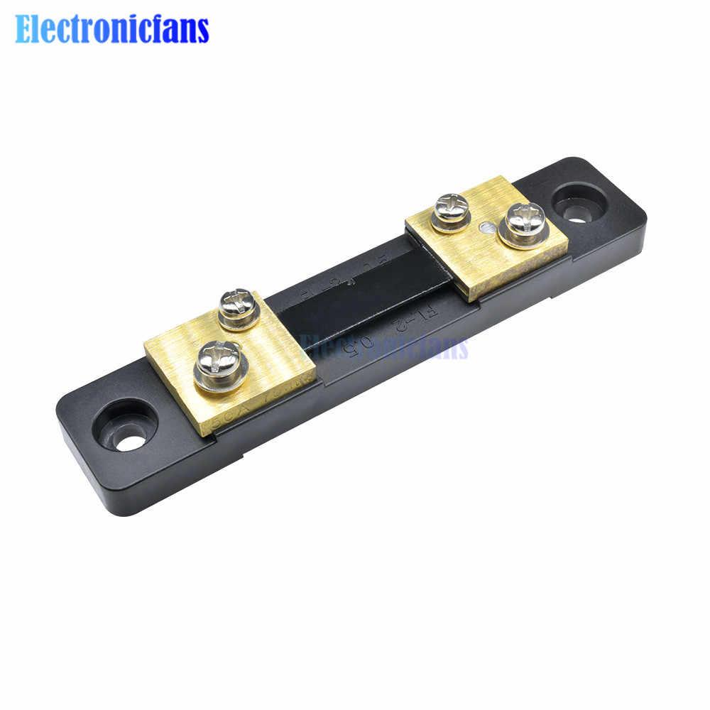 PZEM-015 50A Digitale Batterie Tester Amperemeter Voltmeter Energy Meter Power Kapazität Impedanz Rest Strom Tester Shunt