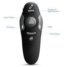 2.4G RF Pointer Pen USB Wireless Power Point Presenter Laser Pen Remote