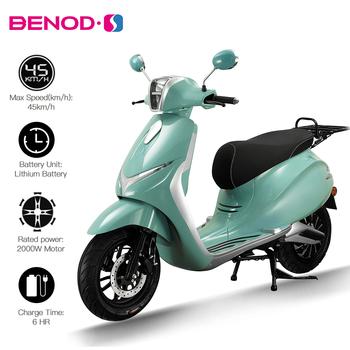 Alpha motocykl elektryczny 72V 2000W 30AH skuter elektryczny dla dorosłych Moto Electrica elektryczny skuter elektryczny rower elektryczny tanie i dobre opinie BENOD CN (pochodzenie) 84kg Front Rear DISC 200kg 100km 72V 30AH 1900*770*1190MM 120 70-12 Lithium Battery AC220V 50Hz