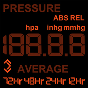 Image 5 - Digital Alarm Wall Clock Weather Station Indoor Outdoor Temperature Humidity Pressure Wind Weather Forecast 3 Outdoor Sensors
