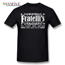Goonies T Shirt Fratelli S Family Restaurant Astoria Oregon T-Shirt Mens Oversize Tee Classic Cute Short-Sleeve Tshirt