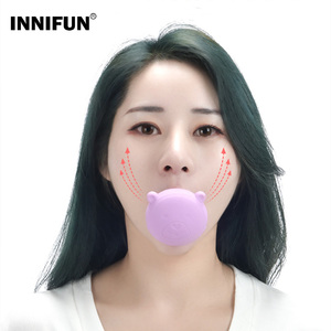 New Face Slimming Tool Face Lift Skin Firming V Shape Exerciser Instrument Cute Portable Anti Wrinkle Mouth Exercise Tool