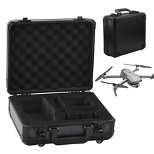 Aluminum Box For DJI MAVIC 2 Pro Zoom Drone Hardshell Storage Bag Carrying Case Handbag Waterproof Suitcase Quadcopter Accessory original realacc black handbag backpack bag carrying case suitcase for eachine wizard x220 rc quadcopter multicopter with sponge