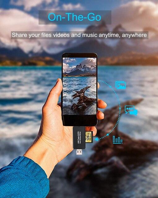 OTG Micro SD Card Reader USB 3.0 Card Reader 2.0 For USB Micro SD Adapter Flash Drive Smart Memory Card Reader Type C Cardreader 4