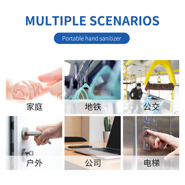 100ml  Disposable Quick-dry Antibacterial Disposable Disinfection Gel Portable Cute Wipe Out Bacteria Hand Sanitizer Gel 3