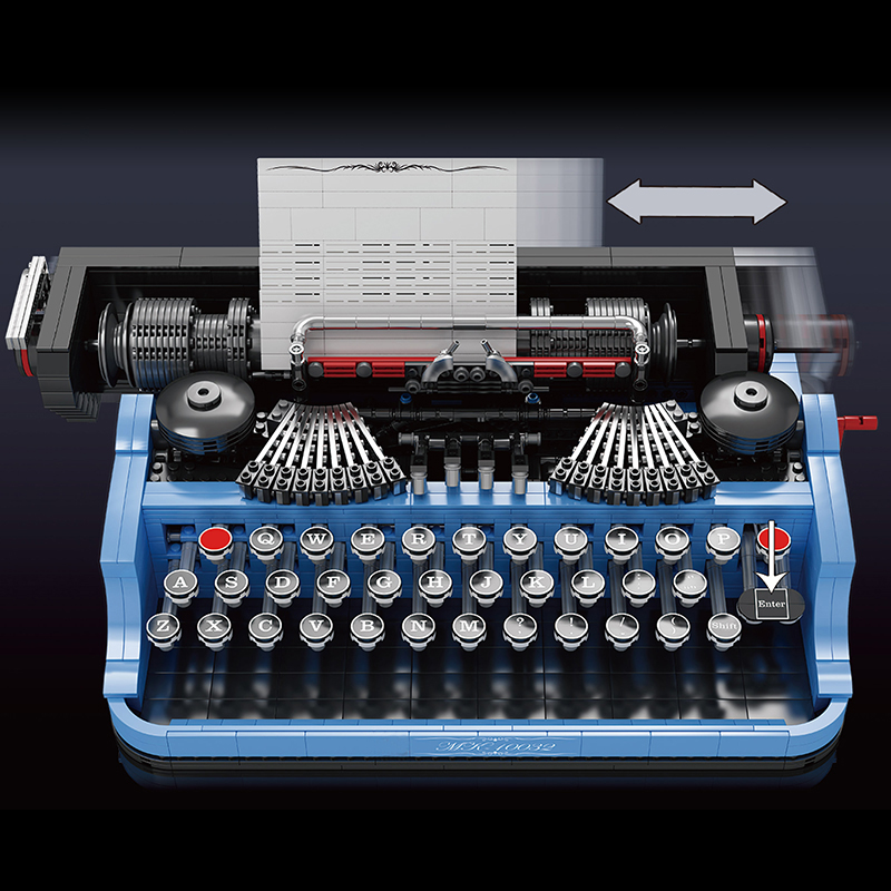 MOULD KING 10032 The Classic Typewriter Model